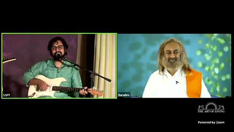 Live Satsang (Jaya Guruom) - Video fragment