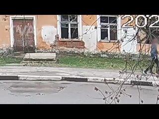 Ликино-Дулёво. Пожар в Лиазе.