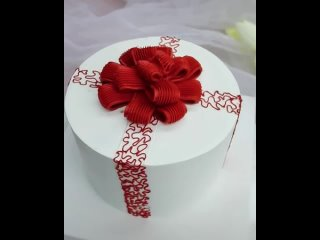 "Декор торта в виде Подарочной коробки. / Наша группа во ВКонтакте: ""ULTRACAKES""."