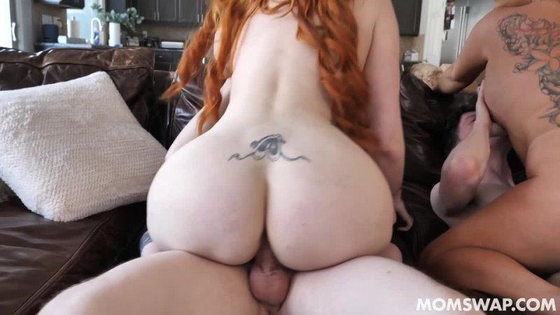 2 сына трахают зрелых мам, sex porn family incest busty mom milf mature redhead ginger
