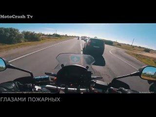 [MotoCrash Tv] Работа Мото Мчс / Спасатели На Мотоциклах