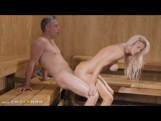 Luna Skye - Getting Hot In The Sauna порно трах ебля секс инцест porn Milf home шлюха домашнее sex минет измена