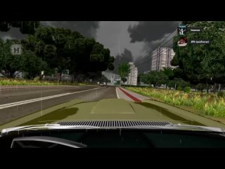 Test Drive Unlimited Remastered - Catching a heavy Rain with Facel Vega - G27