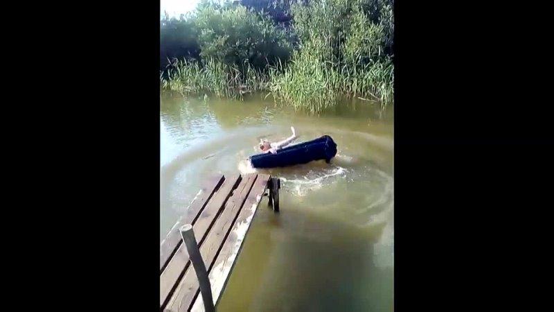 Го купаться, или... Хорошо в деревне летом~1