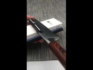 Зажим для равномерной заточки ножа