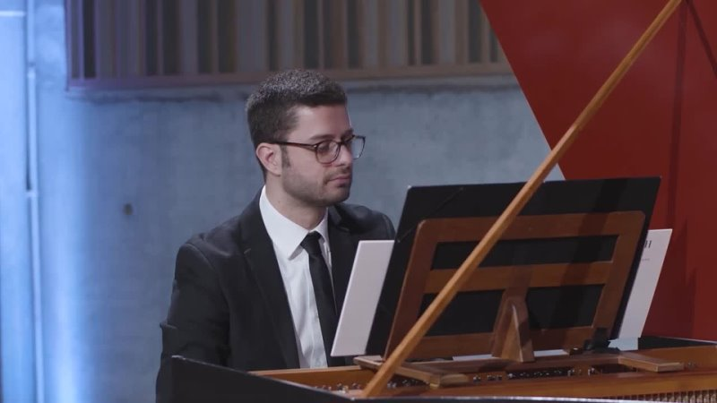 870 881 J S Bach Das wohltemperierte Klavier II 1 Andrea Buccarella harpsichord