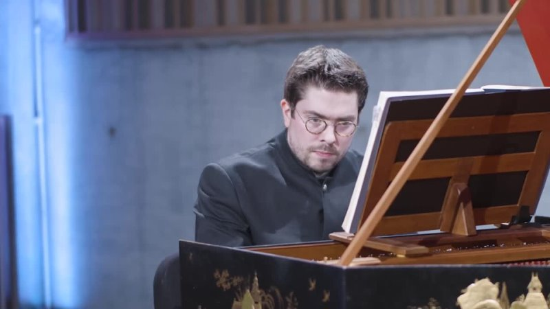 846 857 J S Bach Das wohltemperierte Klavier I 1 Korneel Bernolet harpsichord