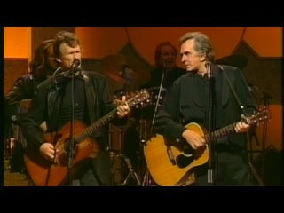 Johnny Cash and Kris Kristofferson - Big River (live 1993) (720p)