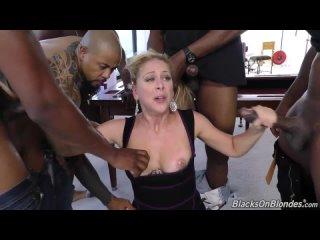 Cherie DeVilles Second Appearance - BlacksOnBlondes [Dogfart]