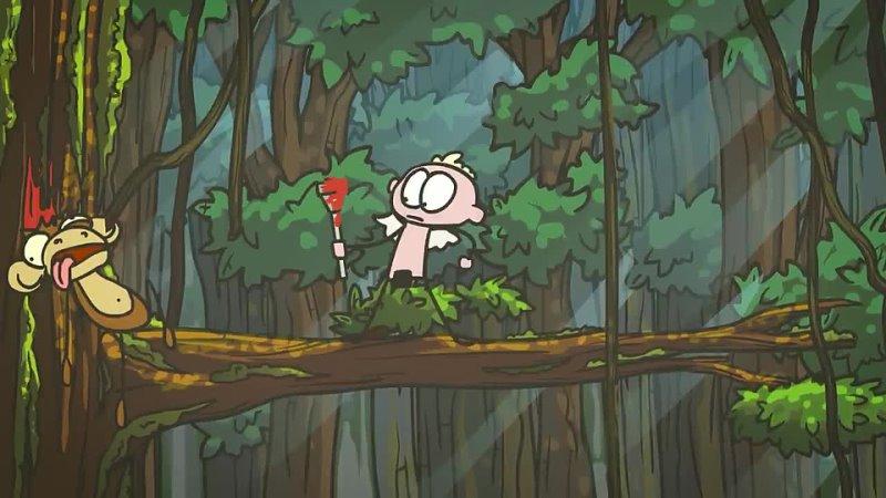 Доктор Гнус Купидон Бог любви Путь саморазвития Анимация
