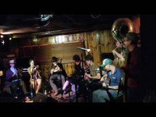 Tuba Skinny. A Jazz Battle. Joes Great American Bar and Grill. October 28 2019 Burbank California