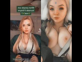 Calcosplay в роли цунаде🔥  Самые горячиe девочки порно секс минет сиськи жопа молодая дрочит пизду