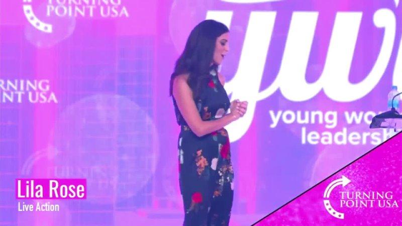 TPUSA · Activista pro vida Lila Rose en la Cumbre de Liderazgo para Mujeres Jóvenes 11 jun 2021