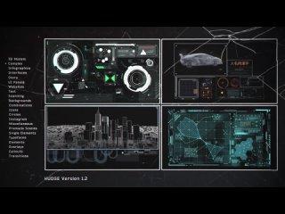 HUDGE | Generator of Hi-Tech Elements | 1850+ HUD UI