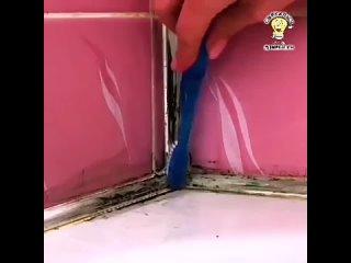 Чистящее средство для ванной. Лайфхак