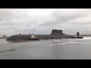10:53 Акула - крупнейшая подводная лодка в мире