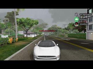 TDU JFR Edition - Cruise and Drifts in The Oahu Island - Jaguar XJ220 - G27