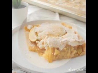 Сегодня делюсь с вами рецептом яблочного пирога с меренгой | Больше рецептов в группе Десертомания