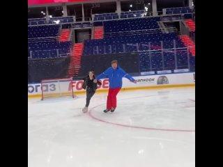Аделина Сотникова и Дмитрий Губерниев