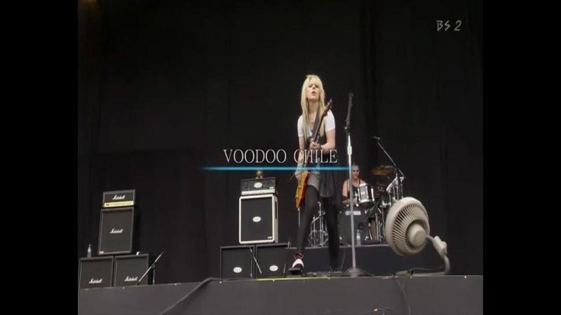 Orianthi Voodoo Child Slight Return Live Summer Sonic Rock Festival 60FPS