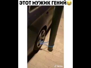 Ну мужик молодец, не растерялся)