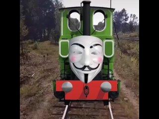 Вау, это же паровозик Анонимус! чух чух чух!