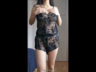 4'11, 90 фунтов, британско-китайский - трахни меня в ночной рубашке?  Самые горячиe девочки порно секс минет сиськи жопа молодая