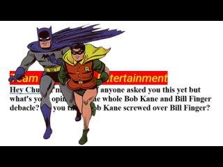 Чак Диксон о Бобе Кейне, Билле Фингере и их вкладе в Бэтмена
