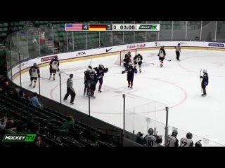 ЮЧМ-2021. Группа В. Матч №2. Германия - США - 3:5 () - (Обзор Игры)