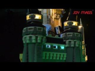 Светодиодный светильник joy mags (только светильник ing set) для 71040, золушка, принцесса, замок, городской блок, совместимый