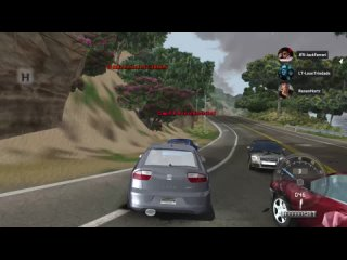JFR Drivers in Test Drive Unlimited Remastered 2021 - Seat Leon Cupra - Logitech G27