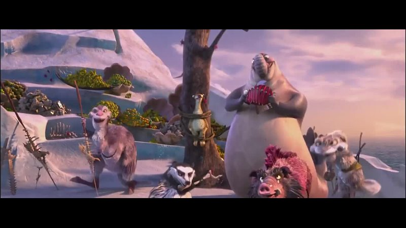 Ice age 4 captain Gutt pirates song master of the seas hindi