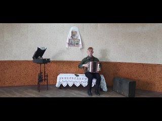 """Панов Денис 3 курс """"В тёмной роще глухой"""" военная песня брянских партизан"""