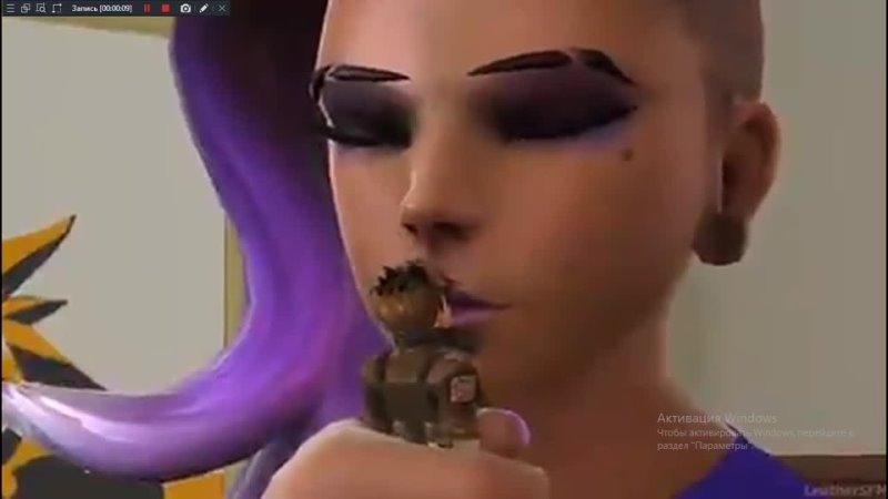 Giantess sombra kiss Panty