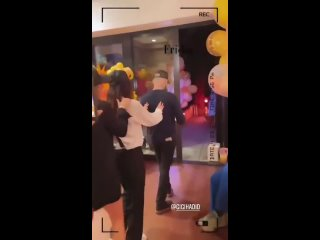 Gigi Hadid, Zayn and friends celebrating her birthday tonight.
