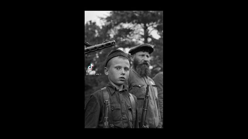 14 летний герой партизан Петр Гурко