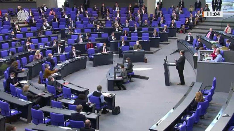 Bundestag Bei Erwähnung von Korruption der CDU greift Schäuble ein Dr Bernd Baumann AfD 21 04 21