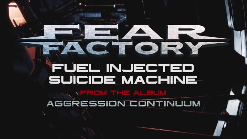 FEAR FACTORY Fuel Injected Suicide Machine Visualized Video 2021