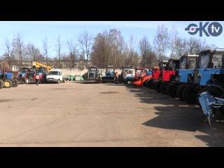 Колпинском районе прошла линейка готовности техники к работе в летний период