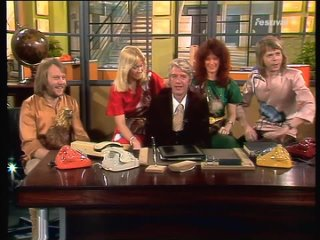ABBA _  Take A Chance On Me (HQ) Am Laufenden Band   Interview