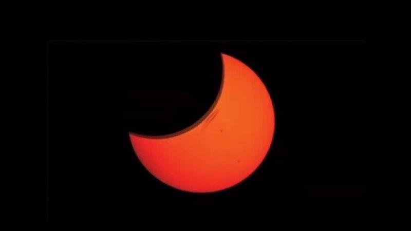 Смоляне стали свидетелями кольцеобразного солнечного затмения