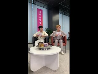 [210424] Live Translation «Grip»  Studio Lululala (Golden Child Jangjun &  Chan)