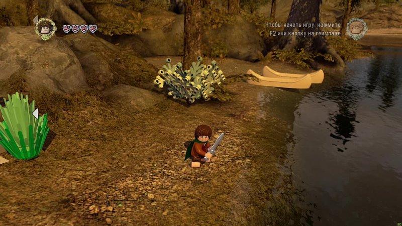 Сладкий канал Мозга Лего Властелин Колец 22 Амон Хин Свободная Игра PC прохождение часть 22