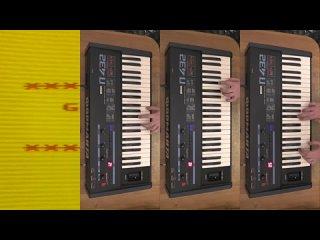 Заставили старый компьютер Atari 800XL петь Digital Emotion - Go Go Yellow Scree