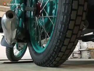 Полная реставрация старого советского мотоцикла