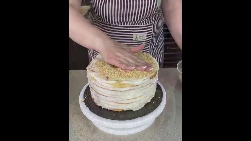 Хозяйка большого дома Рецепты и советы Торт Наполеон