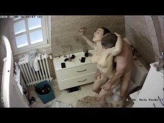 Скрытая камера, домашняя видеосъёмка, домашка, шкодница, анальный, оральный, вагинальный, петинг, в туалете, толчок