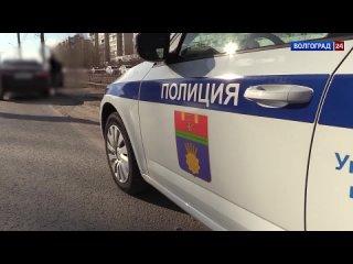 В Волгограде задержали нетрезвого таксиста