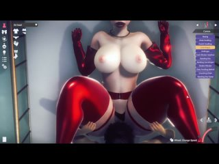 Honey Select 2 - Air head - asian japanese pawg bbw big ass tits wide hips pear latex suit stockings