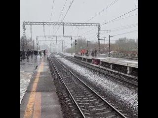 И снова снег...